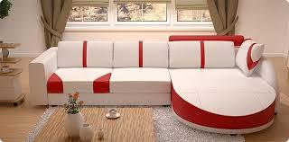 red white sofa. Perfect Sofa WhiteRedWhiteBlack Sectional Living Room Sofa Set Modern Italian Top  Grain In Red White