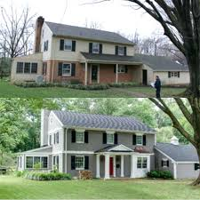 painting exterior brick before and after painting exterior brick gray