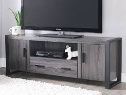 industrial tv console. Perfect Console New 60u0026quot Modern Industrial TV Stand Console  Charcoal With Tv