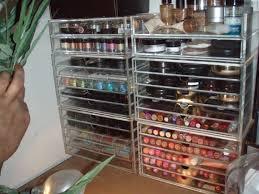 fibergl make up storage drawers with several shelves as well as kim kardashian makeup storage units plus acrylic storage bo for makeup t m l f