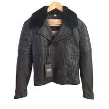 burberry brit gransford biker jacket blazers jackets leather black