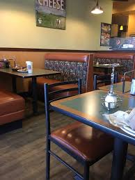 photo of round table pizza san mateo ca united states plates left