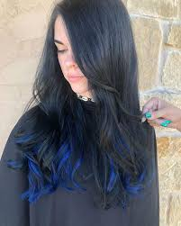 41 beautiful blue black hairstyles for
