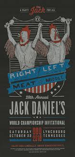 Bbq Poster Jack Daniels 2016 World Championship Bbq Posters Graphis