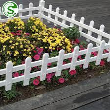 china hard white picket fence garden