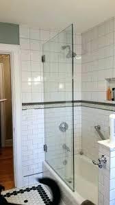 glass shower door sweep half s
