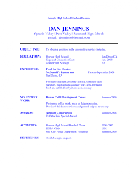 Resume Successful Resumes Examples Sample Cover Letter
