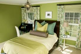 green bedroom colors. Contemporary Bedroom In Green Bedroom Colors M