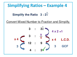 ratios in fraction form simplifying ratios