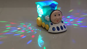 Compify Musical <b>Cute Train</b> Engine with 4D Light and Sound for Toy ...