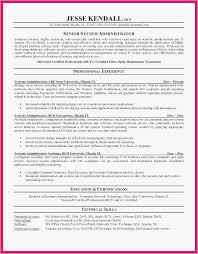School Administrator Resume Professional Template Admin Resume