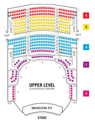 Eccles Theater Salt Lake City Seating Chart 41 Methodical Delta Hall At The Eccles Seating Chart