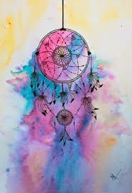 Dream Catcher Anime Simple Colourful Dream And Dreamcatcher Image Art Pinterest