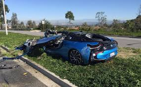 BMW Convertible southern california bmw : A Terrible, No Good, Very Bad Day For One BMW i8 - Car Pro