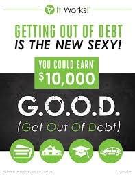 it works diamond bonus does your j o b give you a get out of debt bonus when you join my