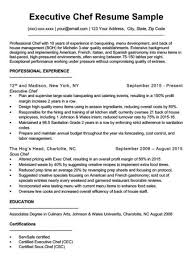 Cover Letter Sous Chef Chef Cover Letter Sample Writing Tips Resume Companion