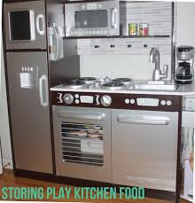 Kitchen Food Storage Play Kitchen Food And Accessory Storage