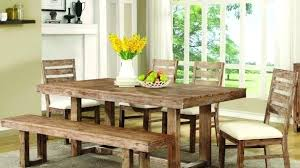 avondale dining room set confidential dining room furniture rustic table and chair set with bench by
