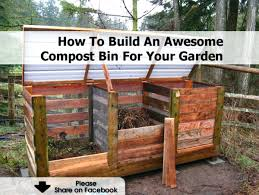 building a compost bin diy worm composting wood build your own out of pallets