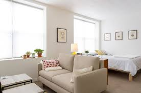 studio apartment furniture. View In Gallery Furniture As A Divider Studio Apartment Furniture
