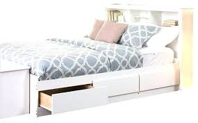 white queen size bed frame. White Storage Bed Queen Frame With Size