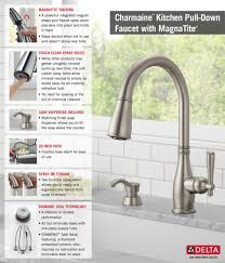 stylish inspiration ideas delta kitchen faucets at home depot endearing 7 chrome pull out 470 dst