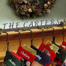 Personalized Christmas Stocking Hanger - American Personalized ...
