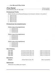 Ms Office Templates Gmdss Radio Operator Sample Resume