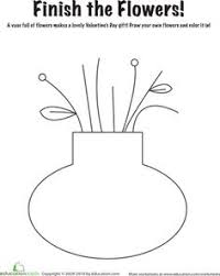 Small Picture Field Trip Fun Parts of A FlowerColoring Activity Sheet for