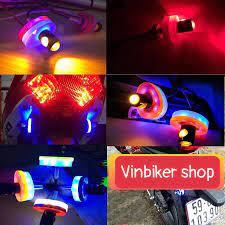 Đèn Led Xi Nhan Gắn Xe Máy - Xi Nhan Mutyl Đủ Màu Kèm Viền Led tại Hà Nội