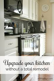 Pictures Of Kitchen Countertops And Backsplashes Inspiration All About My New Counters And Backsplash The Frugal Girl