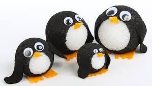 Styrofoam Ball Penguins ~ I first saw these on factory direct craft and had  made these with my nieces and nephew and my son. They turned out so cute,  ...