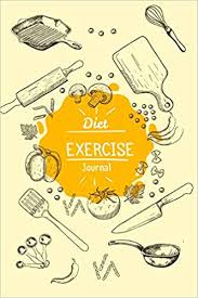 Diet Workout Journal Diet Exercise Journal Food And Exercise Planner Diet Diary