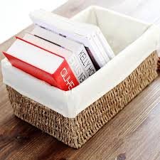 High quality water grass <b>eco friendly</b> zakka storage basket <b>desk</b> ...