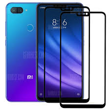 2pcs full cover tempered glass for lg v50 glue screen protector thinq 5g film