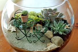 mini fairy garden gl terrarium