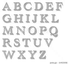アルファベットのイラスト素材 6493098 Pixta