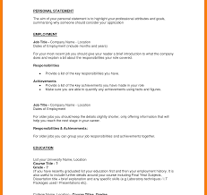 Personal Resume Personal Resumes Example Profile Resume Samples Template Chase 61