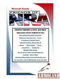hernando county friends of nra buffet dinner live auction to be