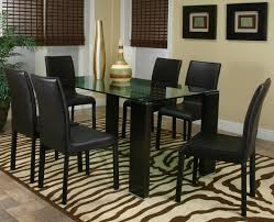 dining room table black glass dining table set small glass dining table and chairs round glass