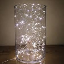 Lights For Glass Vases Naked Wire Fairy Lights 10 15 Or 20 Meter Vase Wedding