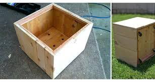 diy wood planter box plans build wood planter box building plans diy vertical wooden box planter