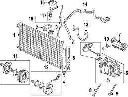 acura tsx a c compressor kit 415 00 495 00 image of 2004 2008 acura tsx a c compressor parts diagram oem