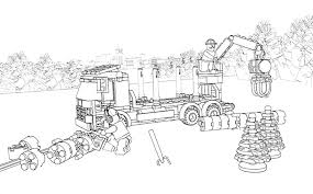 logging coloring pages lego coloring sheet 60059 logging truck lego coloring sheets