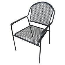 threshold metal mesh dining chair