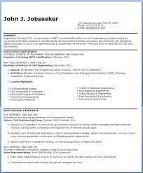 Awesome Collection Of Cover Letter For Civil Engineer