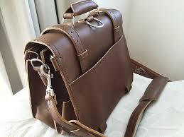 saddleback leather classic briefcase large the most interesting travel bag back