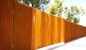 weathered corrugated metal rusted metal siding