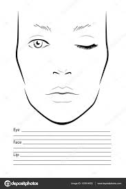 Pictures: Makeup Templates, - Drawings Art Sketch