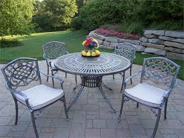 metal patio tables used wrought iron patio furniture